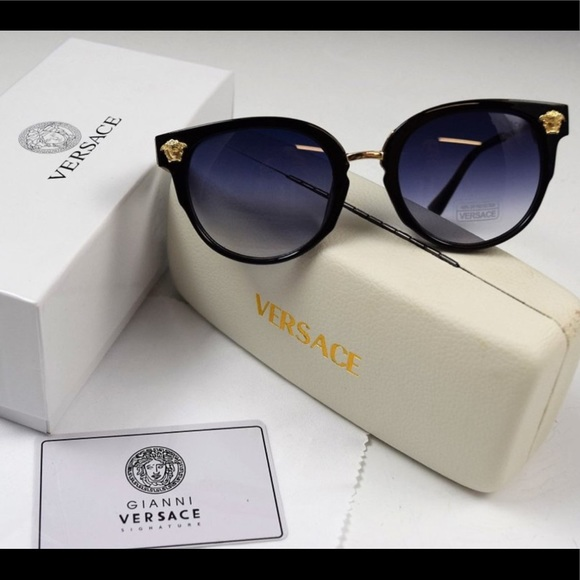 6ba55899a9 Versace Sunglasses with Medusa Medallion ornaments
